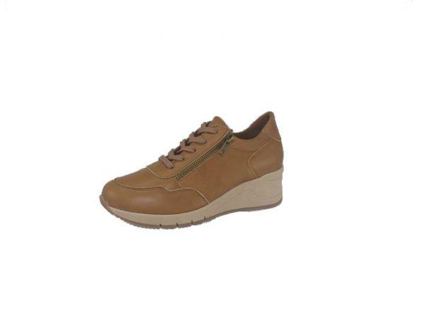 SoftWalk Α 26 Sneaker Ελληνικό Δετό Δερμάτινo με ΠΟΛΥ μαλακό πάτο για άνετο περπάτημα